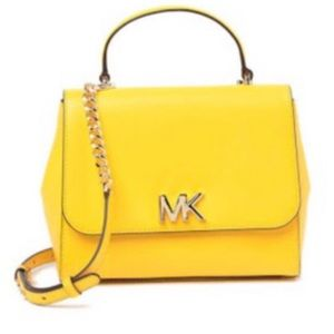Yellow MK Purse